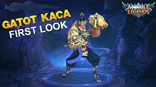Mobile Legends - New Hero Iron Steel GATOT KACA First Look at Next Update