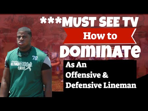 How to Dominate as an Offensive Line & Defensive Line Combine  **MUST SEE TV**
