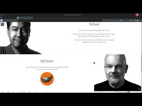PIXLS.US - Wichtige Seite für GIMP und GMIC thumbnail