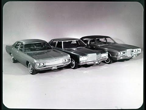 1971 Dodge Polara Custom vs. Chevrolet Impala and Ford Galaxie 500 Dealer Promo Film
