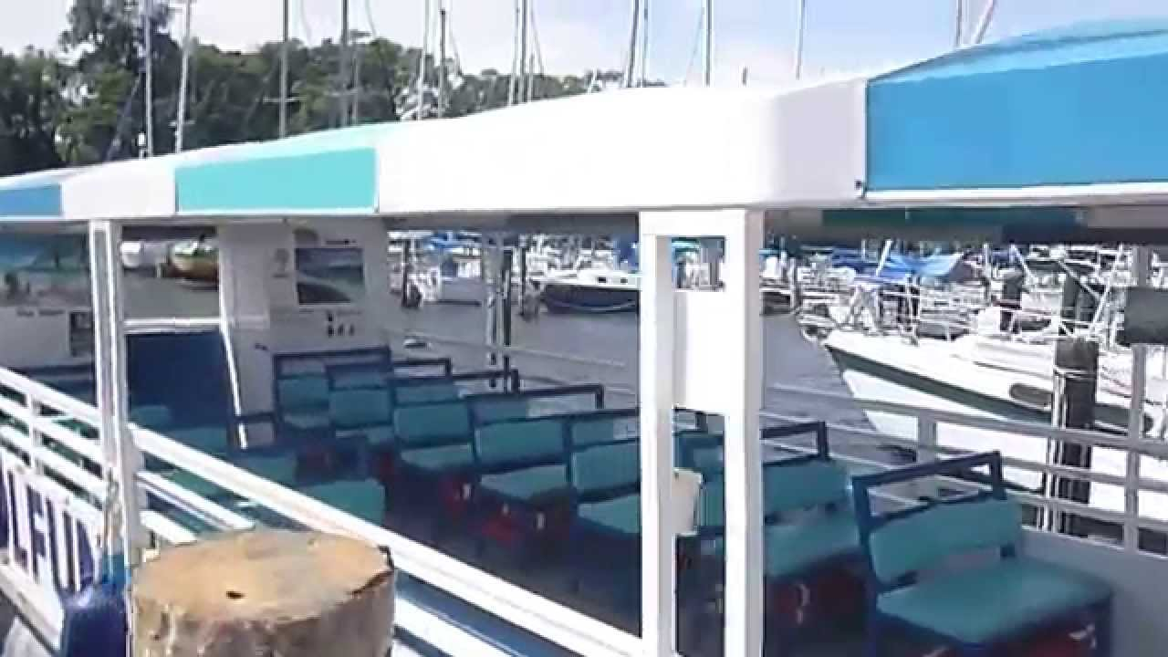Pontoon boats with bathroom for sale - Beautiful 2013 3510 Commercial Tour Boat For Sale Florida 78 000