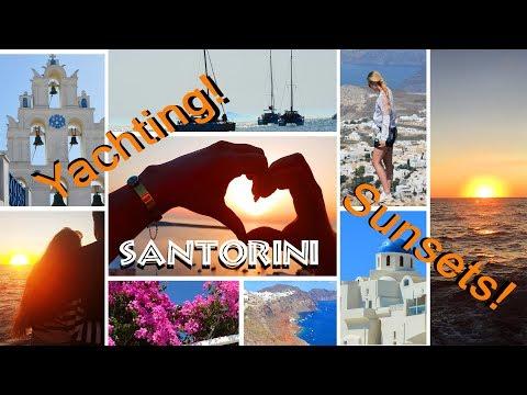 Santorini in 304 seconds//Travel Diary