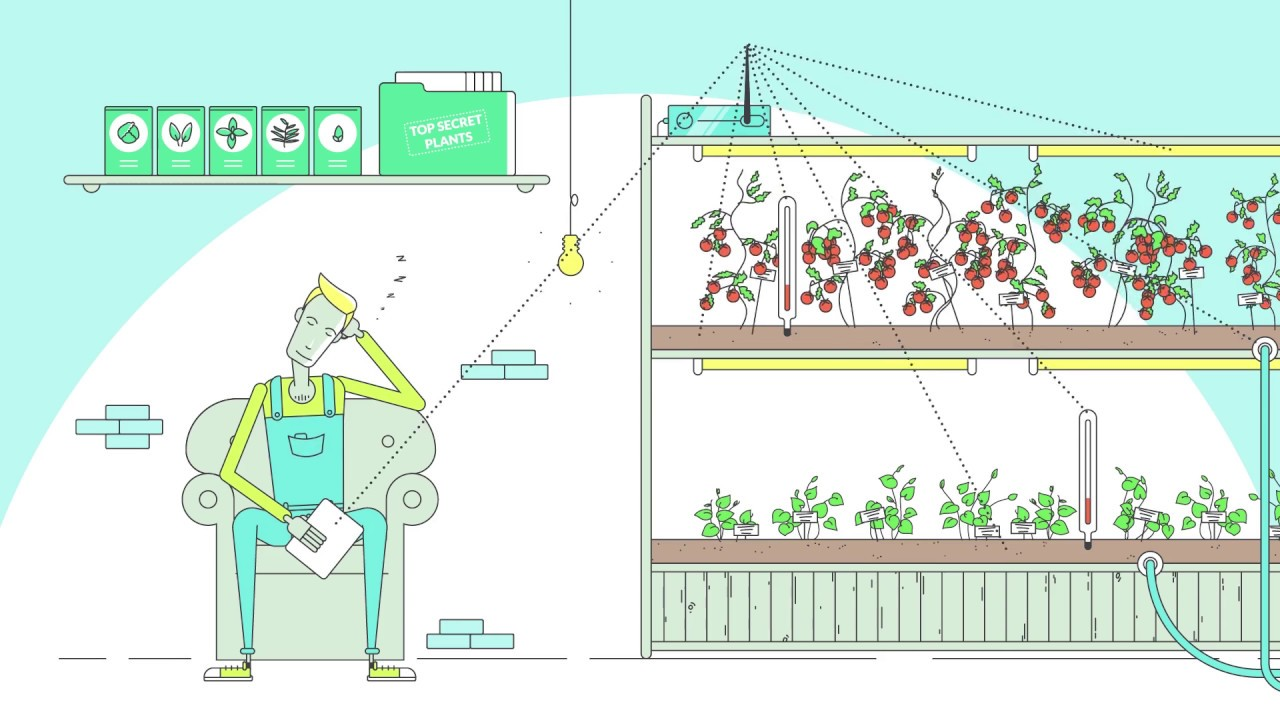 Motorleaf turn your indoor garden into a smart and