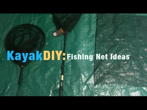 DIY Rubberized Net For Fishing