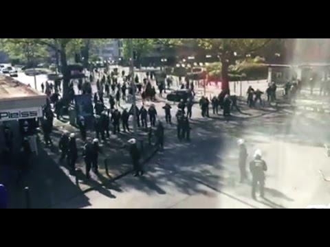 Schalke 04 - Ajax (hooligans)
