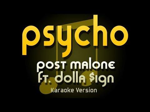 Post Malone - Psycho ft. Ty Dolla $ign (Karaoke)