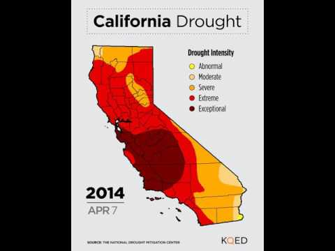 VIDEO: Watch California's Drought Worsen and Improve in 30 Seconds