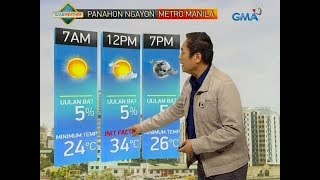 UB: Weather update as of 6:09 a.m. (February 12, 2019)
