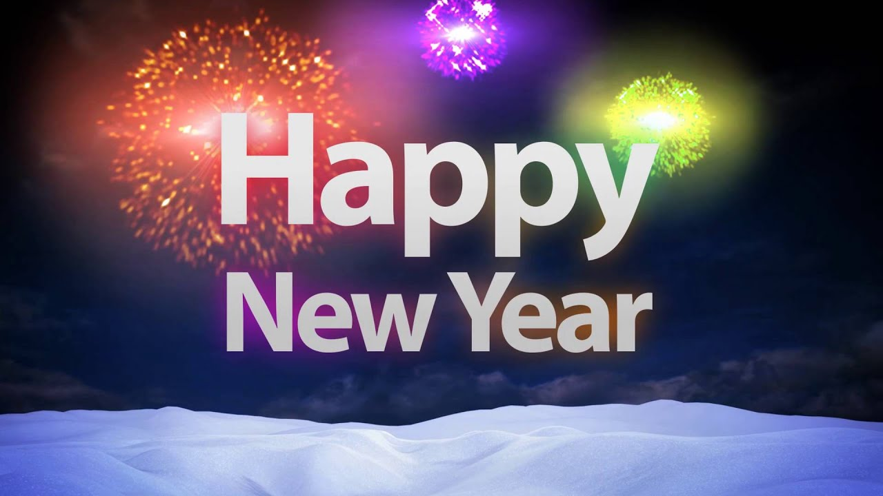 New Year Greeting 2017 animated video   YouTube New Year Greeting 2017 animated video