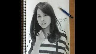 Video Pencil Drawing Maudy Ayunda / cara menggambar wajah download MP3, 3GP, MP4, WEBM, AVI, FLV Januari 2018