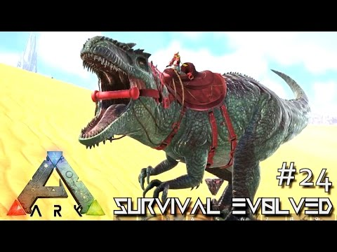 ARK: SCORCHED EARTH - GIGA TRON RETURNS GIGANOTOSAURUS !!! E24 (ARK SURVIVAL EVOLVED GAMEPLAY)