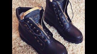 видео Balmain - купить женские ботинки Балмейн Taiga в интернет магазине