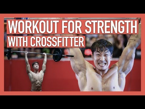WORKOUT FOR STRENGTH&CONDITIONING (with CROSSFITTER) | 에렌 EREN KIM & 제이핏 JAY FITT להורדה