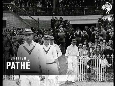 Now For The Second Test! 1932