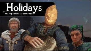 Halloween in Skyrim? – How Holidays Work in The Elder Scrolls Universe