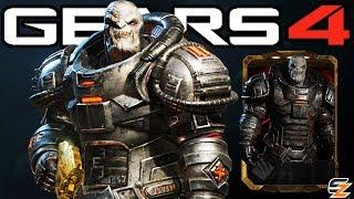 "Gears of War 4 - ""Uzil Sraak"" Character Multiplayer Gameplay! (RISE OF RAAM DLC)"