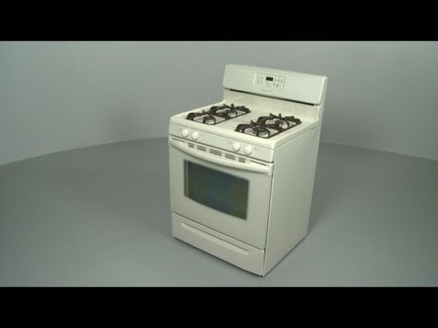 Frigidaire Gas Range/Stove/Oven  Disassembly