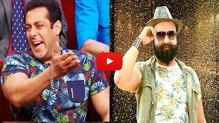Salman khan reaction on baba ram rahim ¦ salman khan vs baba gurmeet ram rahim