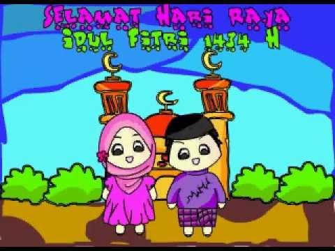 Gambar Animasi Lebaran Idul Fitri Nusagates