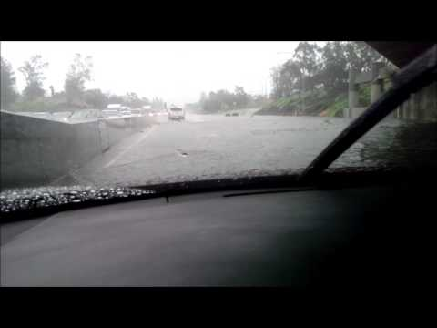 Interstate 5 Flooded in the San Fernando Valley