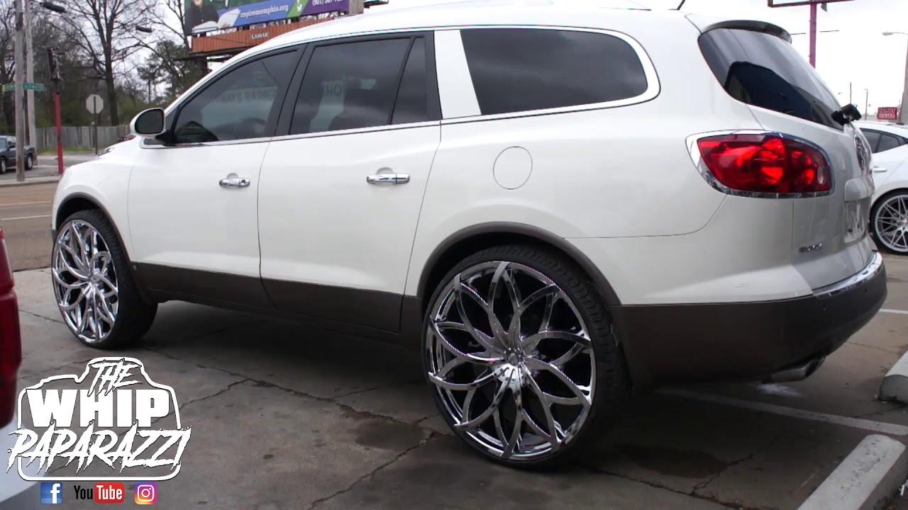 Buick Enclave On 28 Azara Wheels Youtube