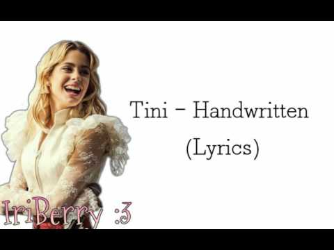 Tini - Handwritten (Lyrics, Letra video)