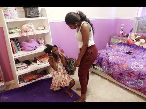 DAUGHTER CUTS OFF HER NATURAL HAIR PRANK!