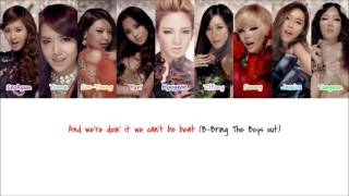 Girls' Generation - The Boys (English Version)