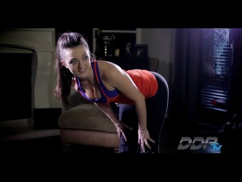 Brittany Page Shows You How to Increase Your Flexibility with DDP YOGA! - DDPtv