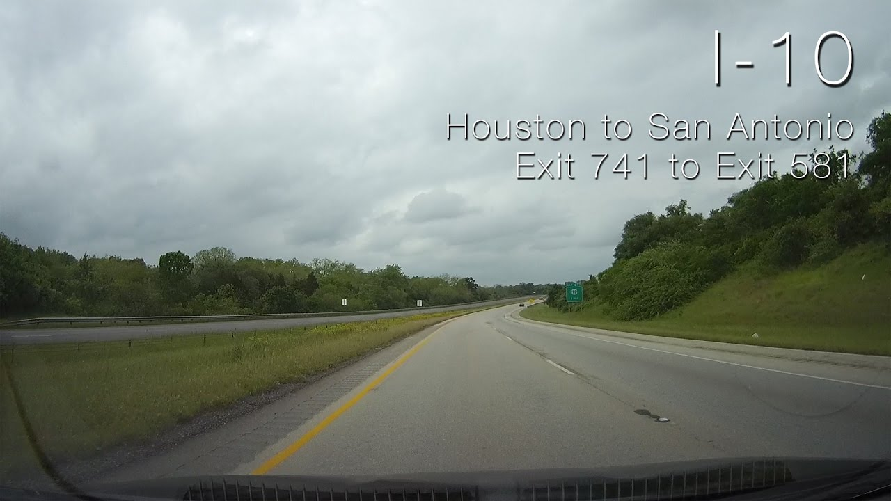 Houston To San Antonio >> I 10 Houston To San Antonio