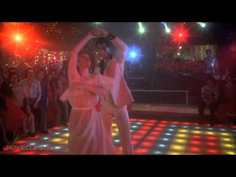 Bee Gees  more than a woman Dancing Saturday Night Fever