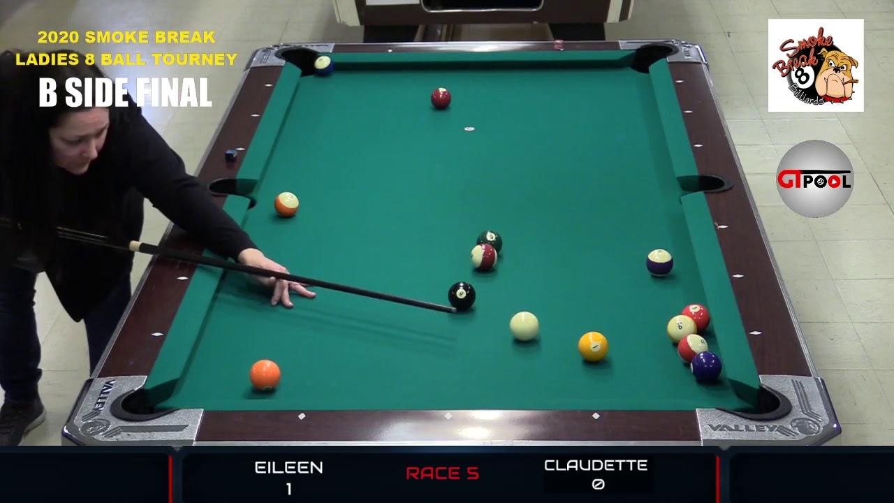 2020 Smoke Break Billiard Ladies 8 Ball Tournament --- ELITE 8 Part 7
