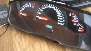 Подсветка приборки Opel Vectra B