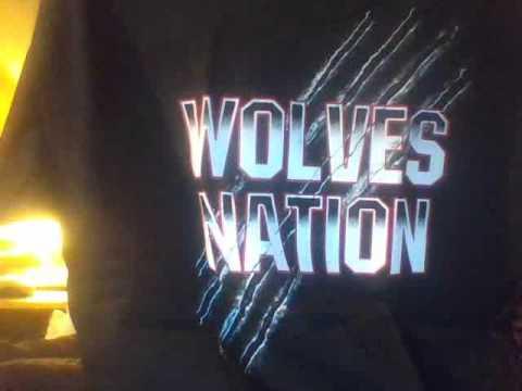 "Official TNA Impact Wrestling Wolves /""Snarl/"" T-Shirt"