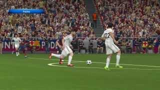 PES 2014 Gameplay Fc Barcelona Vs Real Madrid