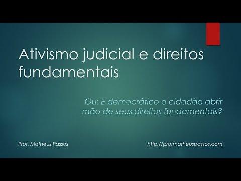 Ativismo judicial e direitos fundamentais