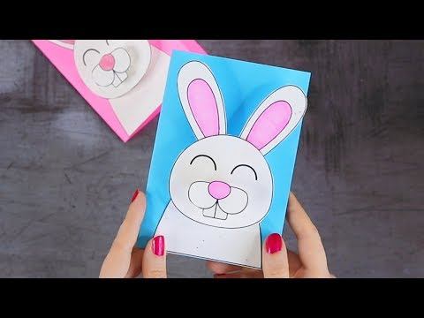 how-to-make-3d-bunny-easter-card---easter-crafts-for-kids