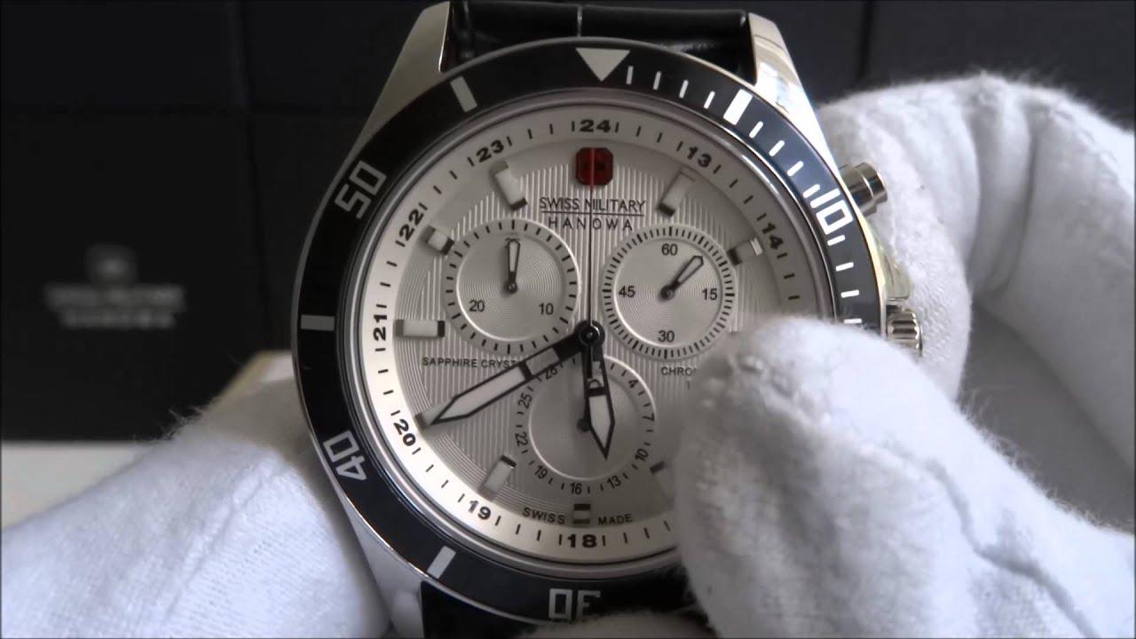 62772bb60f0 Swiss Military Hanowa 4183.04.001.07 - YouTube