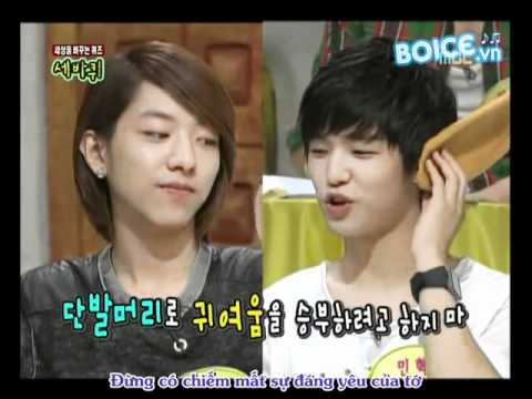 [Vietsub] Jung Shin   Min Hyuk for Dynamic Talk