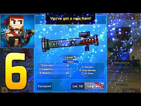 Pixel Gun 3D - Gameplay Walkthrough Part 6 - Apocalypse
