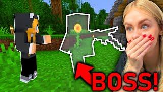 WALKA z NIEWIDZIALNYM BOSSEM w Minecraft!