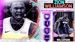 GALAXY OPAL ZION WILLIAMSON GAMEPLAY! GREENED SO MUCH HE THOUGHT I WAS CHEATING! NBA 2k20 MyTEAM