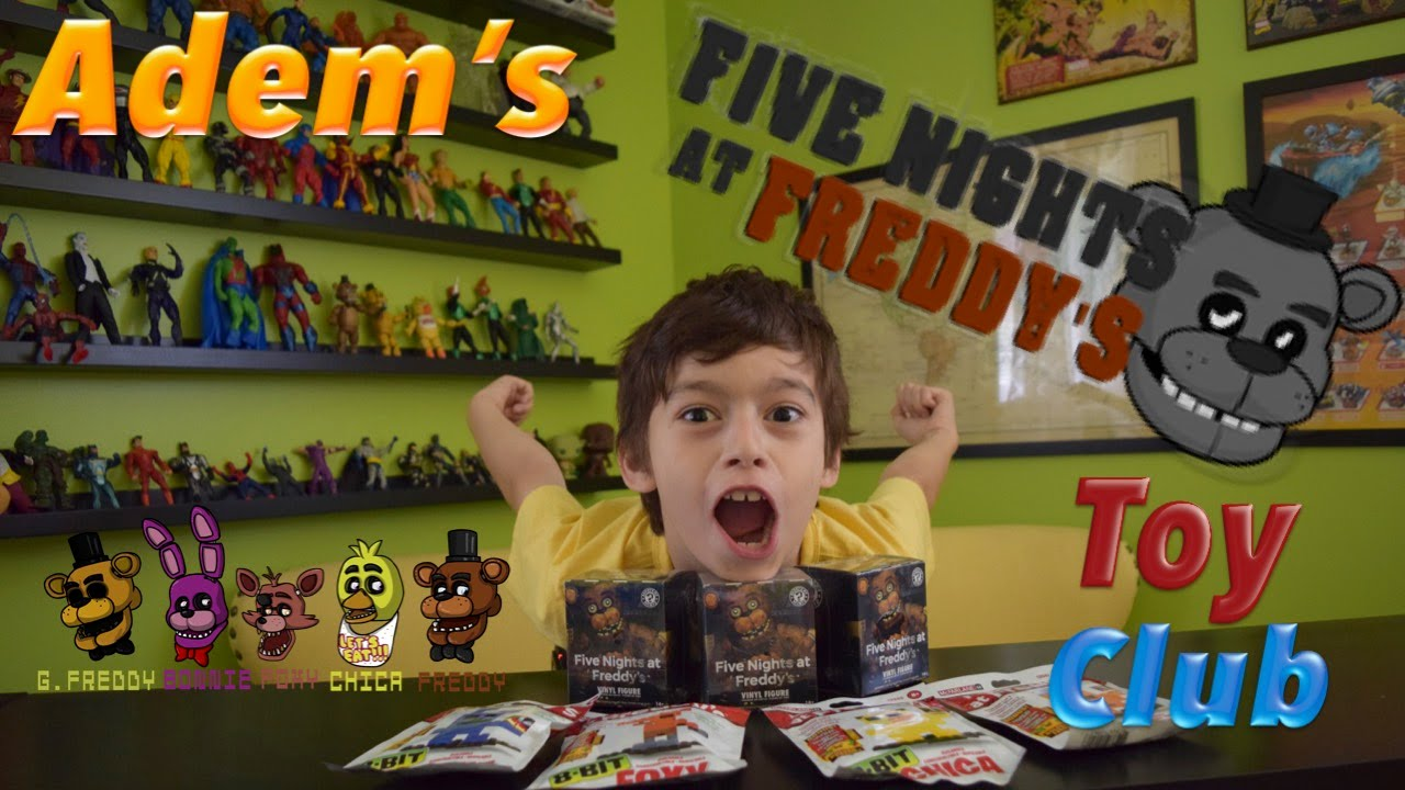 Five nights at freddy s fnaf toys r us youtube