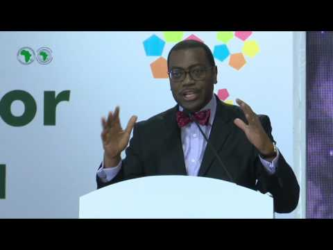 AM2017 - INDIA _ Press Conference of the AfDB President