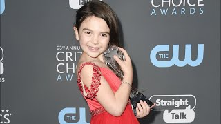 7-Year-Old critics choice winner Brooklynn Prince invites other nominees out for ice cream