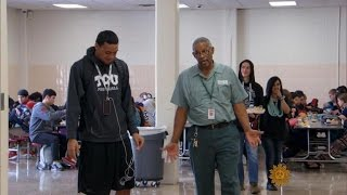 High school janitor goes above and beyond