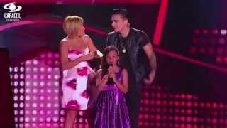 Mariana cantó 'Ya te olvidé' de Marco Antonio Solís - LVK Colombia- Audiciones a ciegas - T1
