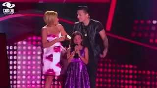Mariana cantó