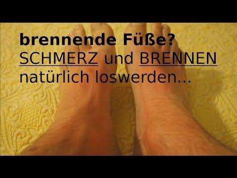 Brennende Füße - SCHMERZ Und BRENNEN Natürlich Loswerden