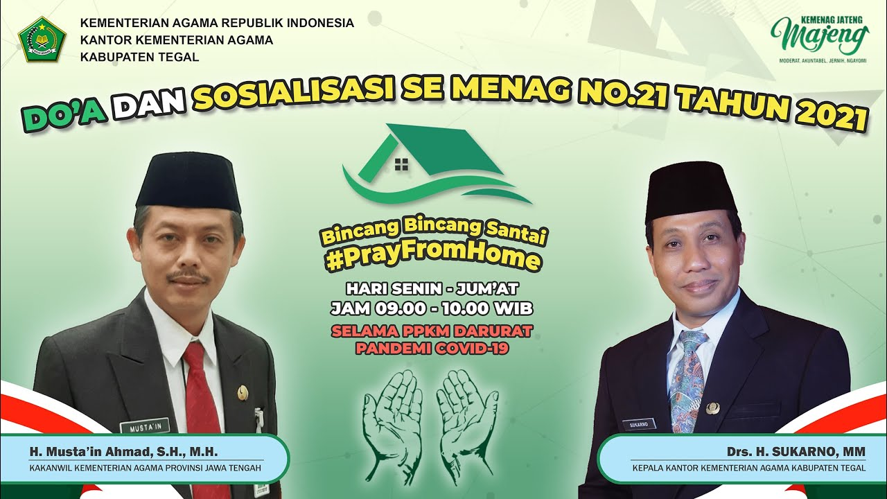 Pembinaan KaKanwil Kemenag Provinsi Jawa Tengah (H. Musta'in Ahmad, S.H., M.H.)